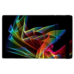 Dancing Northern Lights, Abstract Summer Sky  Apple Ipad 2 Flip Case by DianeClancy