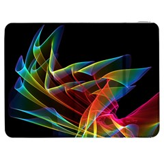 Dancing Northern Lights, Abstract Summer Sky  Samsung Galaxy Tab 7  P1000 Flip Case by DianeClancy
