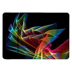 Dancing Northern Lights, Abstract Summer Sky  Samsung Galaxy Tab 8 9  P7300 Flip Case by DianeClancy