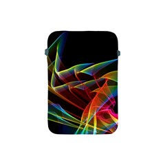 Dancing Northern Lights, Abstract Summer Sky  Apple Ipad Mini Protective Sleeve by DianeClancy