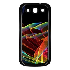 Dancing Northern Lights, Abstract Summer Sky  Samsung Galaxy S3 Back Case (black) by DianeClancy