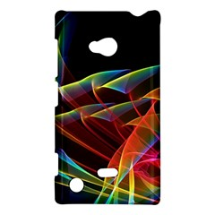 Dancing Northern Lights, Abstract Summer Sky  Nokia Lumia 720 Hardshell Case by DianeClancy