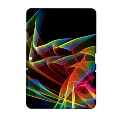 Dancing Northern Lights, Abstract Summer Sky  Samsung Galaxy Tab 2 (10 1 ) P5100 Hardshell Case  by DianeClancy