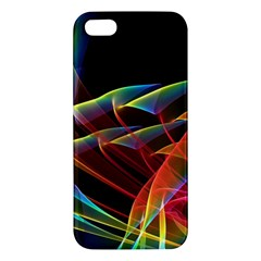 Dancing Northern Lights, Abstract Summer Sky  Iphone 5s Premium Hardshell Case by DianeClancy