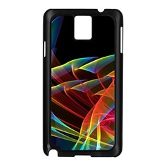 Dancing Northern Lights, Abstract Summer Sky  Samsung Galaxy Note 3 N9005 Case (black)