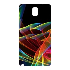 Dancing Northern Lights, Abstract Summer Sky  Samsung Galaxy Note 3 N9005 Hardshell Back Case by DianeClancy