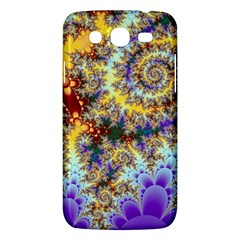 Desert Winds, Abstract Gold Purple Cactus  Samsung Galaxy Mega 5 8 I9152 Hardshell Case  by DianeClancy