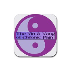 Yin & Yang Of Chronic Pain Drink Coasters 4 Pack (square) by FunWithFibro