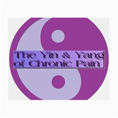 Yin & Yang Of Chronic Pain Glasses Cloth (small) by FunWithFibro