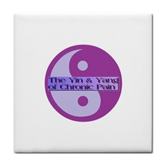 Yin & Yang Of Chronic Pain Face Towel by FunWithFibro