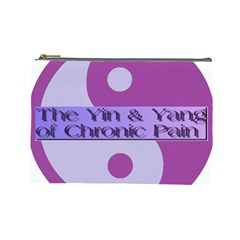 Yin & Yang Of Chronic Pain Cosmetic Bag (large) by FunWithFibro