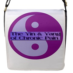 Yin & Yang Of Chronic Pain Flap Closure Messenger Bag (small) by FunWithFibro