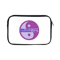Yin & Yang Of Chronic Pain Apple Ipad Mini Zippered Sleeve by FunWithFibro