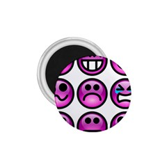 Chronic Pain Emoticons 1 75  Button Magnet by FunWithFibro