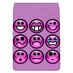 Chronic Pain Emoticons Removable Flap Cover (large) by FunWithFibro