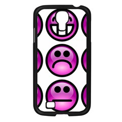 Chronic Pain Emoticons Samsung Galaxy S4 I9500/ I9505 Case (black) by FunWithFibro