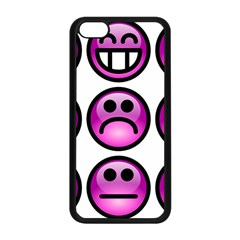 Chronic Pain Emoticons Apple Iphone 5c Seamless Case (black) by FunWithFibro