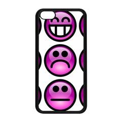 Chronic Pain Emoticons Apple Iphone 5c Seamless Case (black) by FunWithFibro