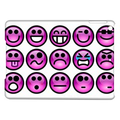 Chronic Pain Emoticons Apple Ipad Air Hardshell Case by FunWithFibro