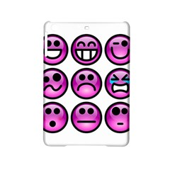 Chronic Pain Emoticons Apple Ipad Mini 2 Hardshell Case by FunWithFibro