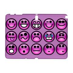 Chronic Pain Emoticons Samsung Galaxy Note 10 1 (p600) Hardshell Case