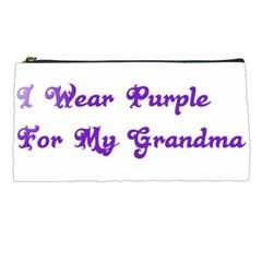 I Wear Purple For My Grandma Pencil Case