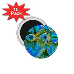 Mystical Spring, Abstract Crystal Renewal 1 75  Button Magnet (10 Pack) by DianeClancy