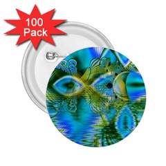 Mystical Spring, Abstract Crystal Renewal 2 25  Button (100 Pack) by DianeClancy