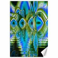 Mystical Spring, Abstract Crystal Renewal Canvas 20  X 30  (unframed) by DianeClancy