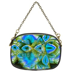 Mystical Spring, Abstract Crystal Renewal Chain Purse (one Side) by DianeClancy