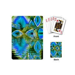 Mystical Spring, Abstract Crystal Renewal Playing Cards (mini) by DianeClancy