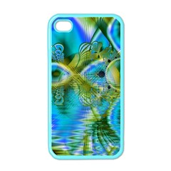 Mystical Spring, Abstract Crystal Renewal Apple Iphone 4 Case (color) by DianeClancy