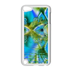 Mystical Spring, Abstract Crystal Renewal Apple Ipod Touch 5 Case (white) by DianeClancy