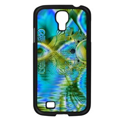 Mystical Spring, Abstract Crystal Renewal Samsung Galaxy S4 I9500/ I9505 Case (black) by DianeClancy