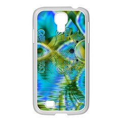 Mystical Spring, Abstract Crystal Renewal Samsung Galaxy S4 I9500/ I9505 Case (white) by DianeClancy