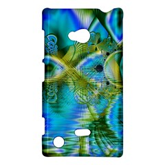 Mystical Spring, Abstract Crystal Renewal Nokia Lumia 720 Hardshell Case by DianeClancy