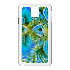 Mystical Spring, Abstract Crystal Renewal Samsung Galaxy Note 3 N9005 Case (white) by DianeClancy