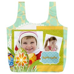 Easter By Easter   Full Print Recycle Bag (xl)   9wu6u44l22f0   Www Artscow Com Back