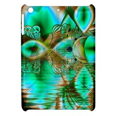 Spring Leaves, Abstract Crystal Flower Garden Apple Ipad Mini Hardshell Case by DianeClancy