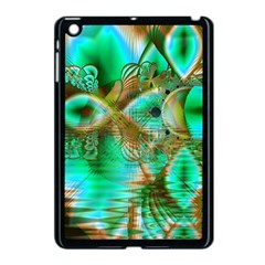Spring Leaves, Abstract Crystal Flower Garden Apple Ipad Mini Case (black) by DianeClancy