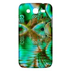 Spring Leaves, Abstract Crystal Flower Garden Samsung Galaxy Mega 5 8 I9152 Hardshell Case  by DianeClancy