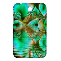 Spring Leaves, Abstract Crystal Flower Garden Samsung Galaxy Tab 3 (7 ) P3200 Hardshell Case  by DianeClancy
