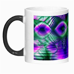Evening Crystal Primrose, Abstract Night Flowers Morph Mug by DianeClancy