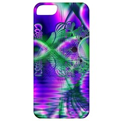Evening Crystal Primrose, Abstract Night Flowers Apple Iphone 5 Classic Hardshell Case by DianeClancy