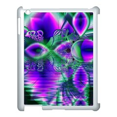 Evening Crystal Primrose, Abstract Night Flowers Apple Ipad 3/4 Case (white) by DianeClancy