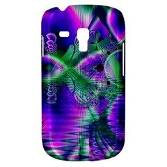 Evening Crystal Primrose, Abstract Night Flowers Samsung Galaxy S3 Mini I8190 Hardshell Case by DianeClancy