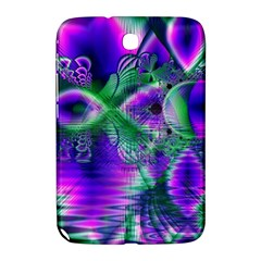 Evening Crystal Primrose, Abstract Night Flowers Samsung Galaxy Note 8 0 N5100 Hardshell Case  by DianeClancy