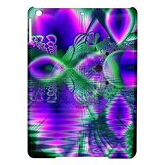 Evening Crystal Primrose, Abstract Night Flowers Apple Ipad Air Hardshell Case by DianeClancy
