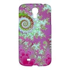 Raspberry Lime Surprise, Abstract Sea Garden  Samsung Galaxy S4 I9500/i9505 Hardshell Case by DianeClancy
