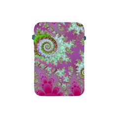 Raspberry Lime Surprise, Abstract Sea Garden  Apple Ipad Mini Protective Sleeve by DianeClancy